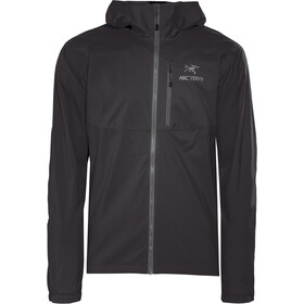 Arc'teryx Squamish Capuchon Jas Heren, black